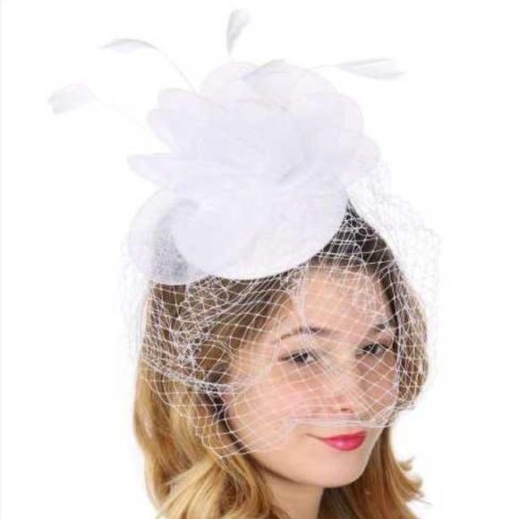 457d76089e3 New Bridal hat Church Fascinator Hat